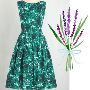 Modcloth Emily and Fin Walk Down the Isle Dress L